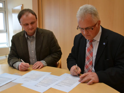 Raiffeisenbank Main-Spessart EG Und Energieberater Franken E.V. Besiegeln Kooperation