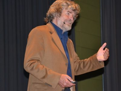 Reinhold Messner In Main-Spessart
