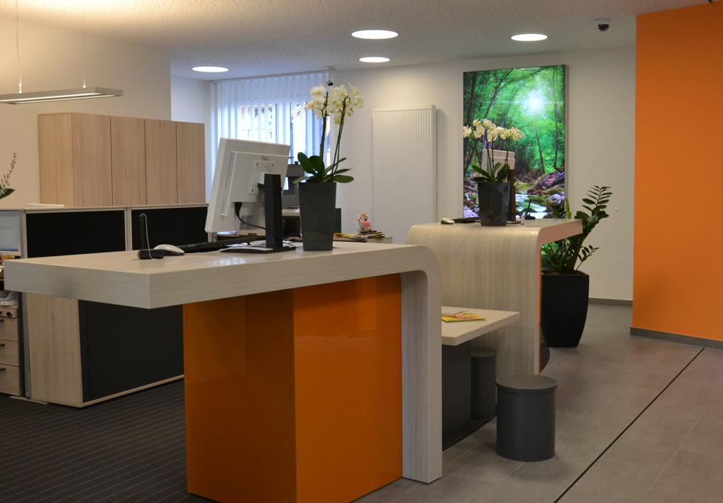 Geschäftsstelle Langenprozelten Erstrahlt In Neuem Glanz