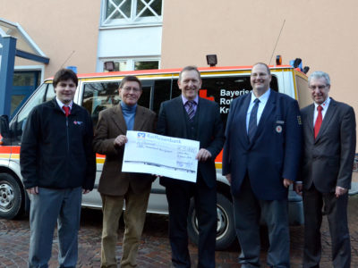 Raiffeisenbank Hilft – 5.000 EUR Für Den Kreisverband Des BRK Main-Spessart