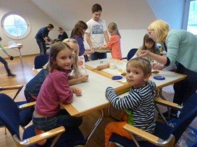 1. Kindermitbringtag Der Raiffeisenbank
