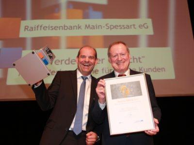 Raiffeisenbank Main-Spessart Ausgezeichnet