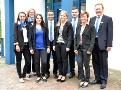 Freisprechungsfeier Bei Der Raiffeisenbank  Main-Spessart