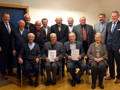 60, 75, 80 Und Sogar 100 Jahre Treue Zur Genossenschaft