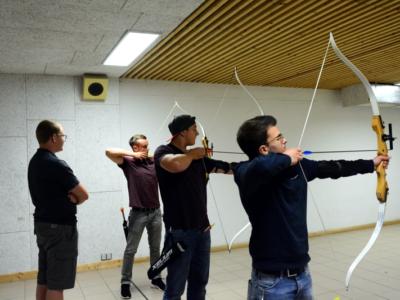 Kennenlerntreffen Der Auszubildenden Beim Schützenverein In Sackenbach