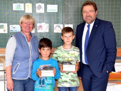 Gleich Zwei Gewinner In Der Grundschule Wiesthal