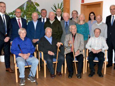 60, 70 Und Sogar 100 Jahre Treue Zur Genossenschaft