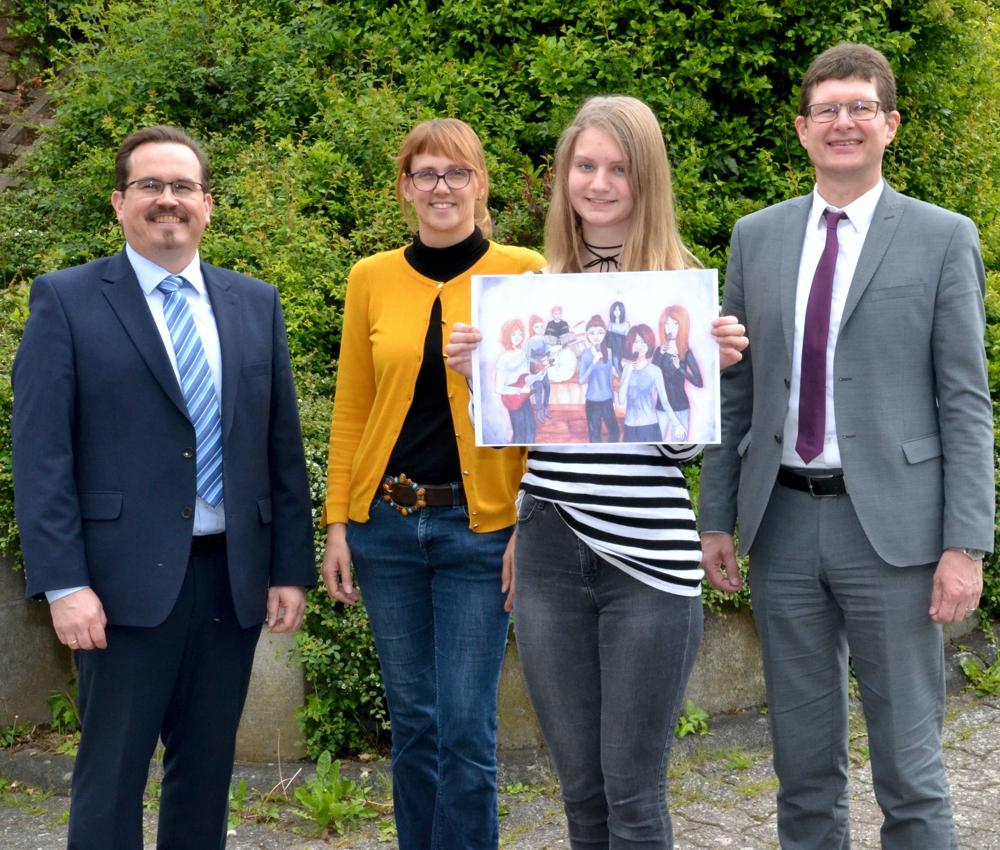 49. Internationaler Jugendwettbewerb: Landessiegerin Aus Main-Spessart